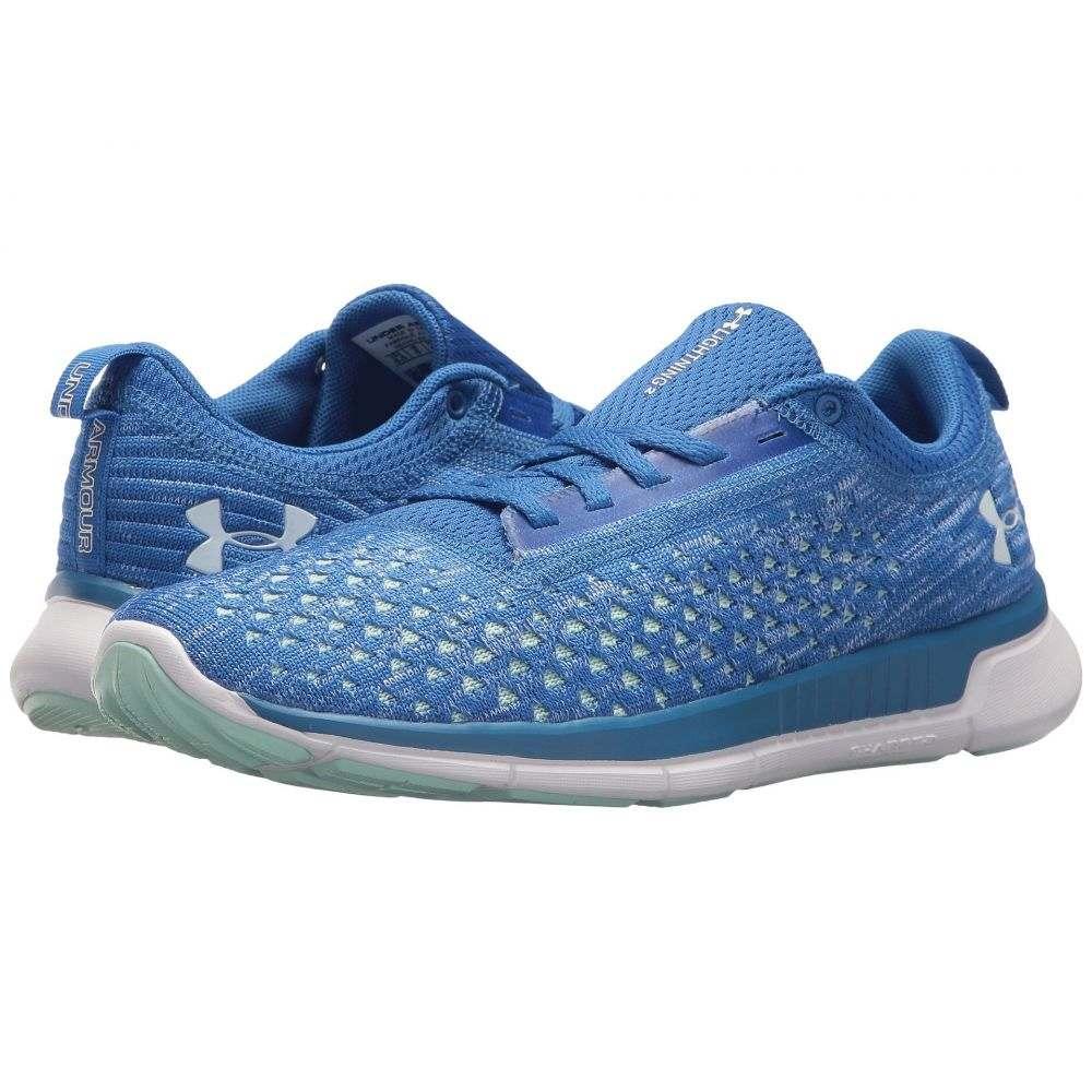 アンダーアーマー レディース ランニング・ウォーキング シューズ・靴【UA Lightning 2】Belt Blue/Mediterranean/White
