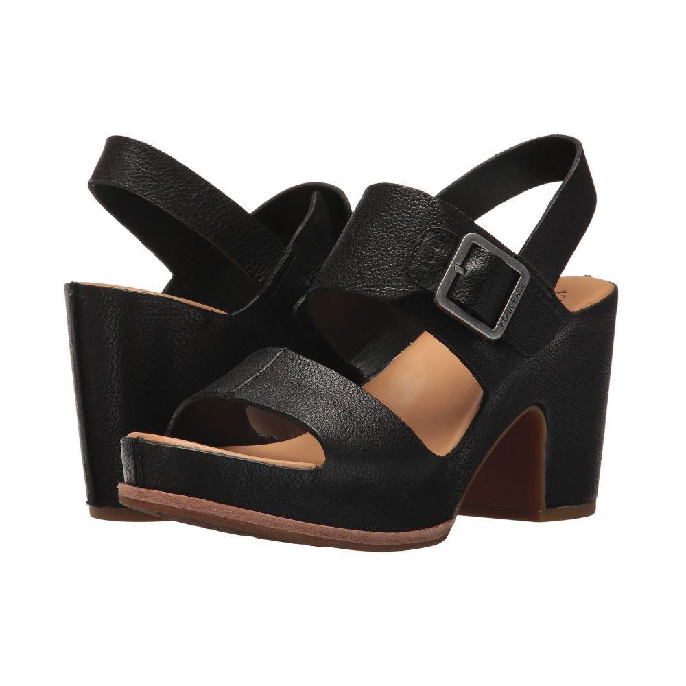 コークイーズ レディース シューズ・靴 サンダル・ミュール【San Carlos】Black Full Grain Leather