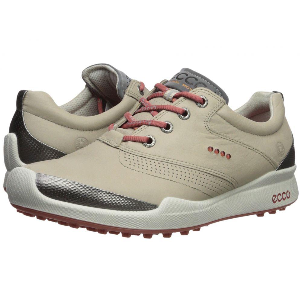 エコー レディース ゴルフ シューズ・靴【Biom Golf Hybrid】Oyster/Rosato