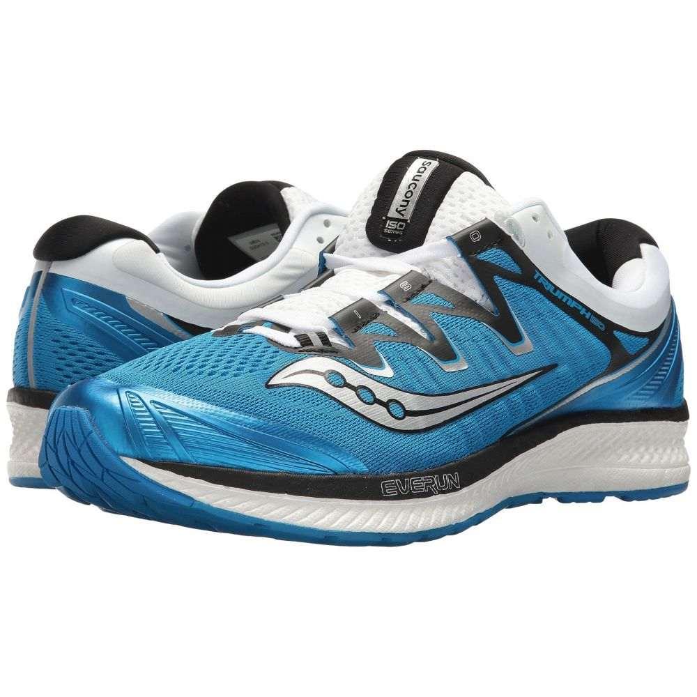 サッカニー メンズ ランニング・ウォーキング シューズ・靴【Triumph ISO 4】Blue/Black/White