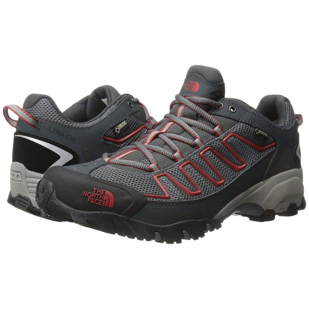 ザ ノースフェイス メンズ ランニング・ウォーキング シューズ・靴【Ultra 109 GTX】Zinc Grey/Pompeian Red
