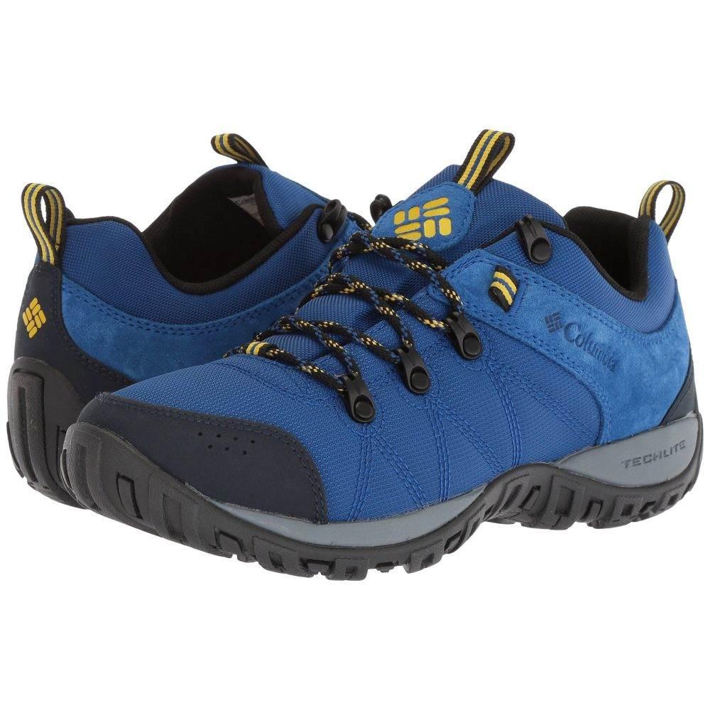 コロンビア メンズ ハイキング・登山 シューズ・靴【Peakfreak Venture LT】Azul/Electron Yellow