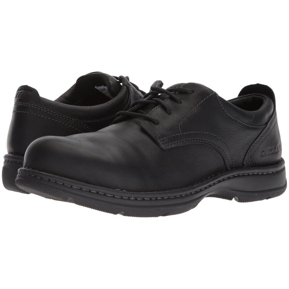 カロリナ メンズ シューズ・靴 革靴・ビジネスシューズ【ESD Aluminum Toe Opanka Oxford CA3581】Tully Black Leather