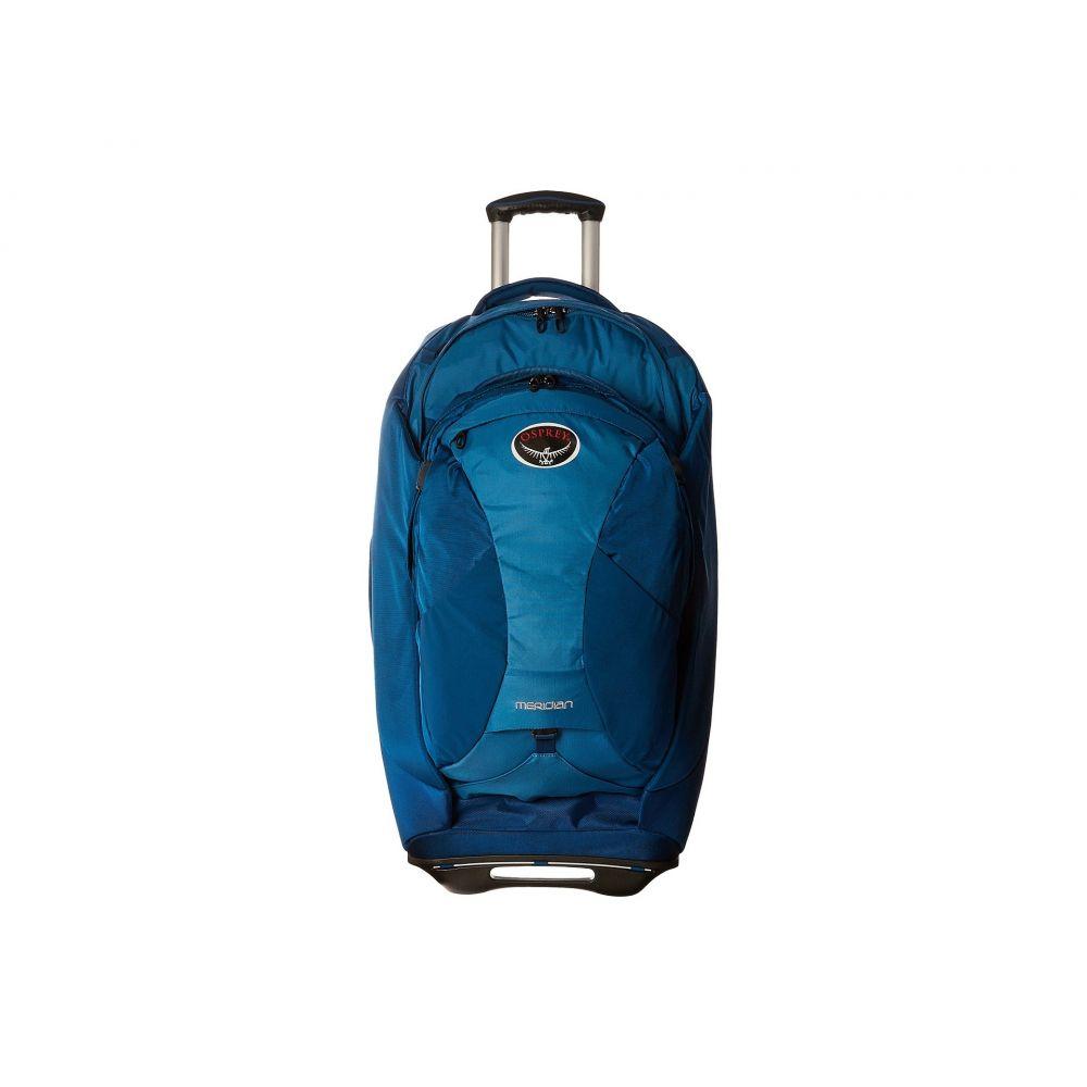 オスプレー レディース バッグ スーツケース・キャリーバッグ【Meridian 28/75L】Lagoon Blue