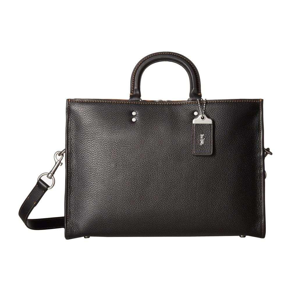 コーチ メンズ バッグ ビジネスバッグ・ブリーフケース【Rouge Brief in Glovetan Leather】Black