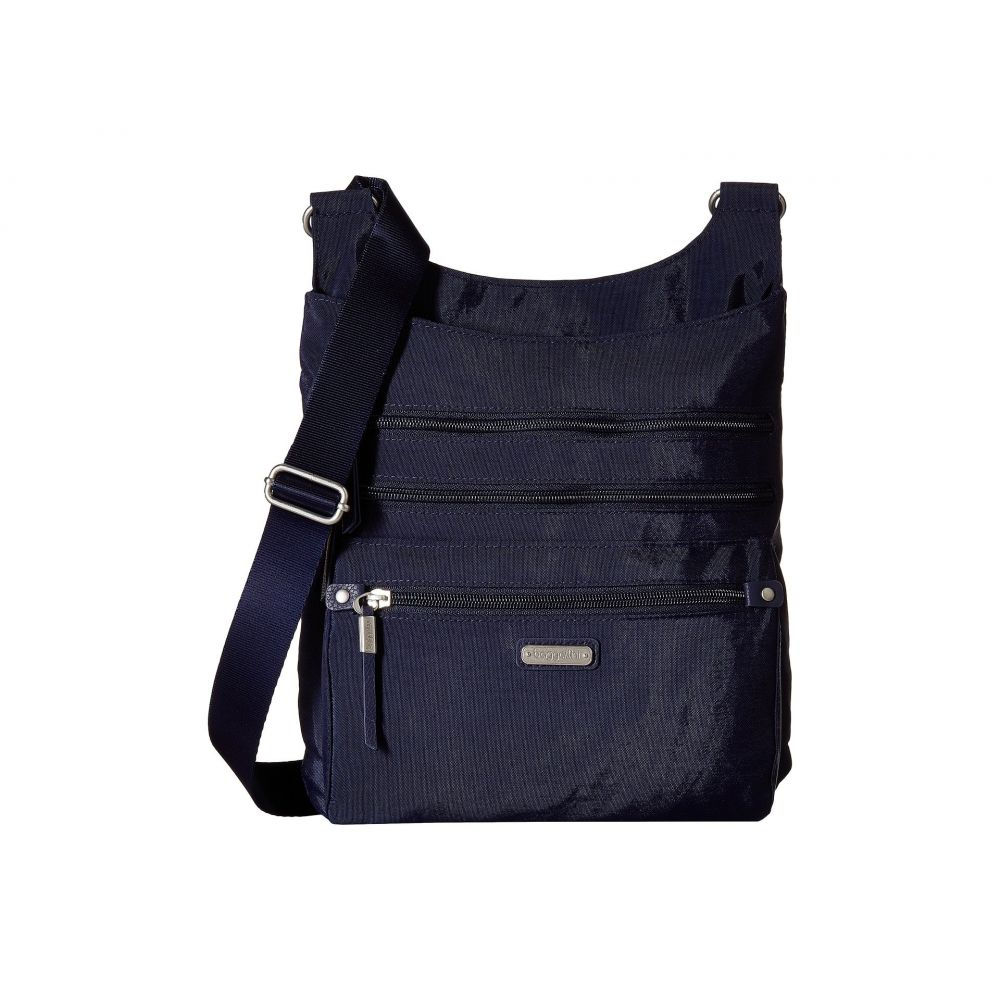 バッガリーニ レディース スマホケース【New Classic Around Town Bagg with RFID Phone Wristlet】Navy