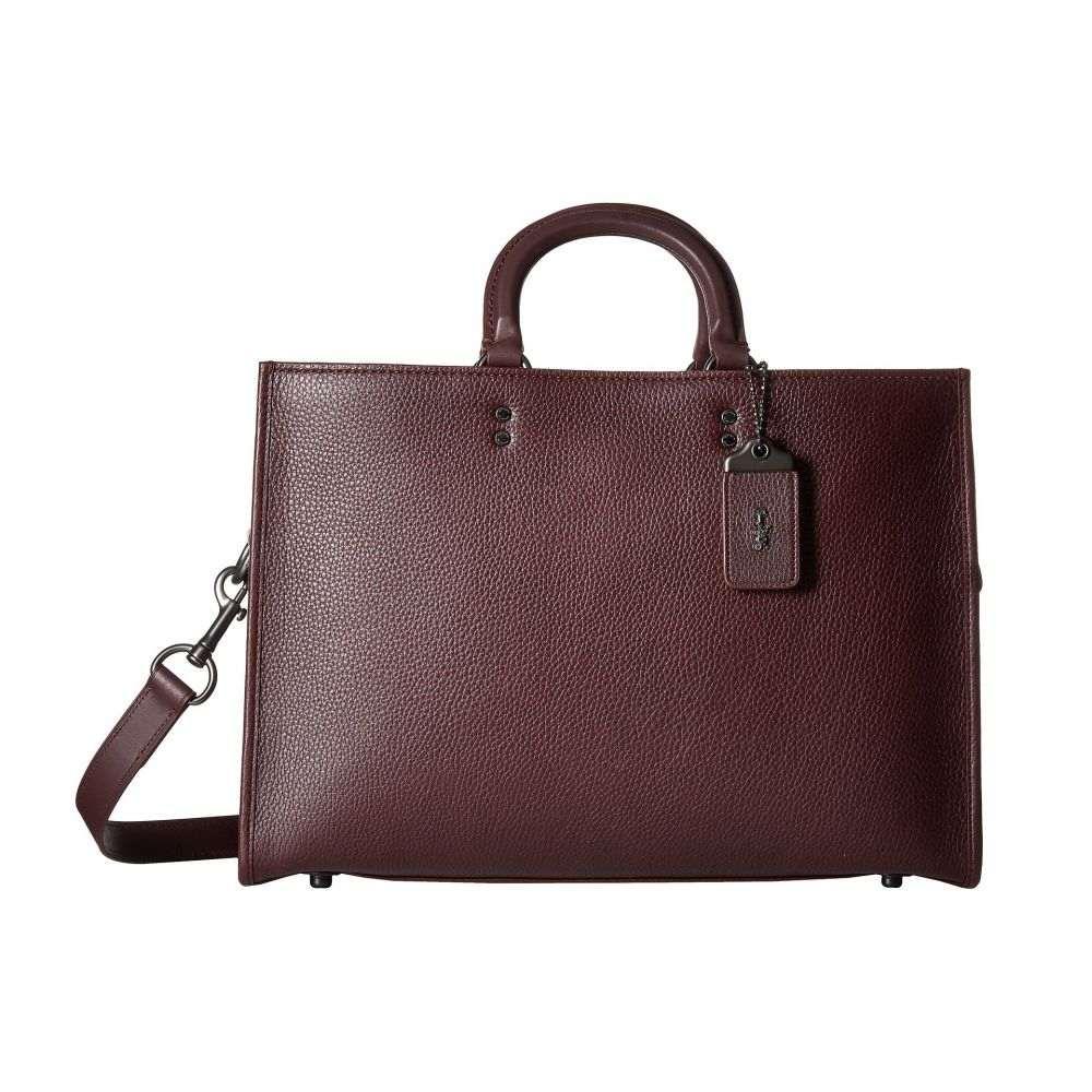 コーチ メンズ バッグ ビジネスバッグ・ブリーフケース【Rouge Brief in Glovetan Leather】New Oxblood