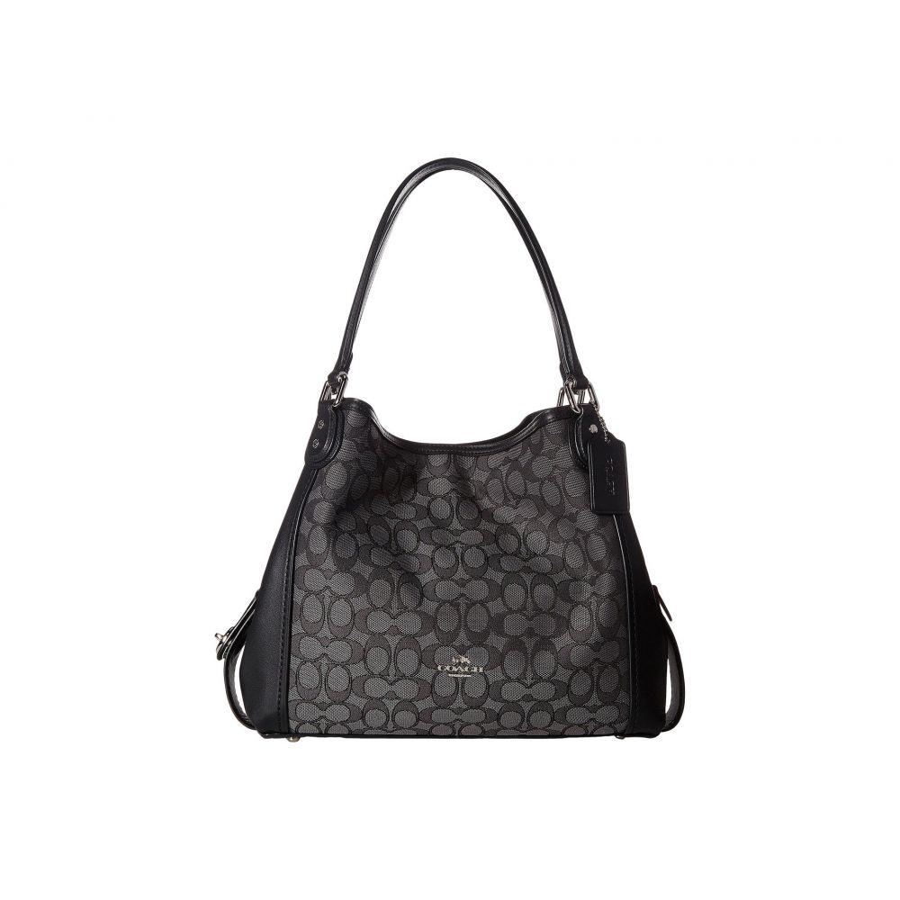 コーチ レディース バッグ ショルダーバッグ【Signature Edie 31 Shoulder Bag】SV/Black Smoke/Black