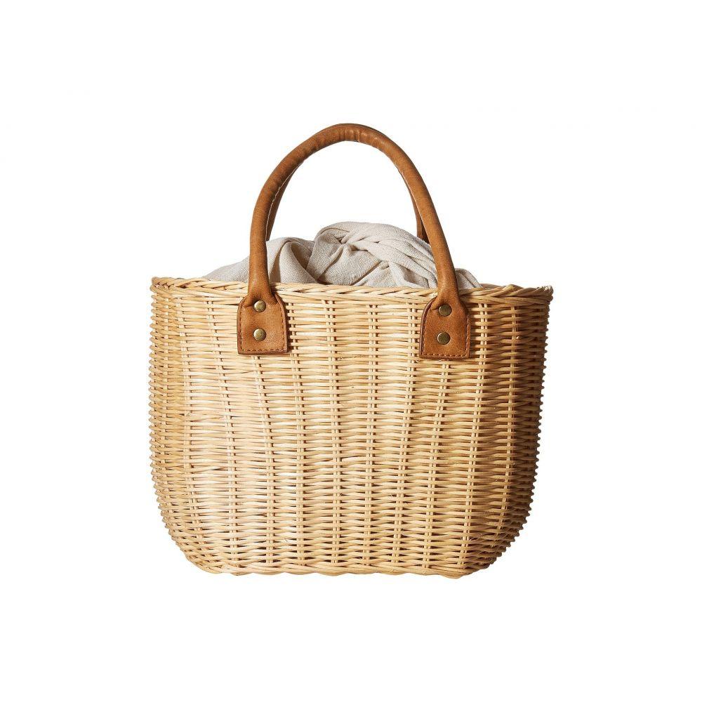 ハットアタック レディース バッグ トートバッグ【Wicker Small Basket】Natural