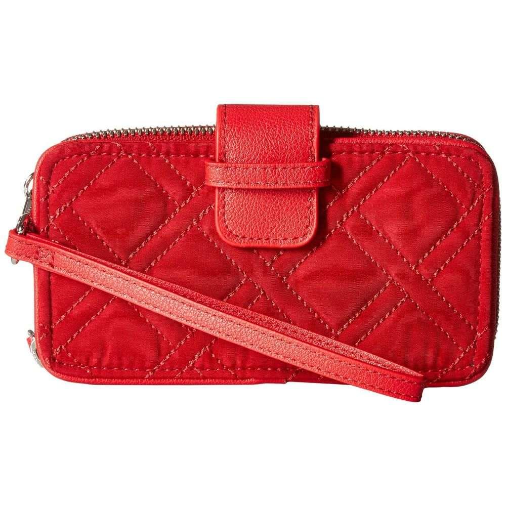 ヴェラ ブラッドリー レディース スマホケース【RFID Smartphone Wristlet】Cardinal Red