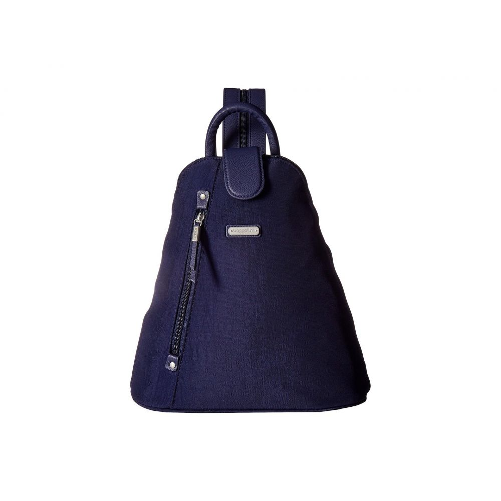 バッガリーニ レディース バッグ バックパック・リュック【Metro Backpack with RFID Phone Wristlet】Navy