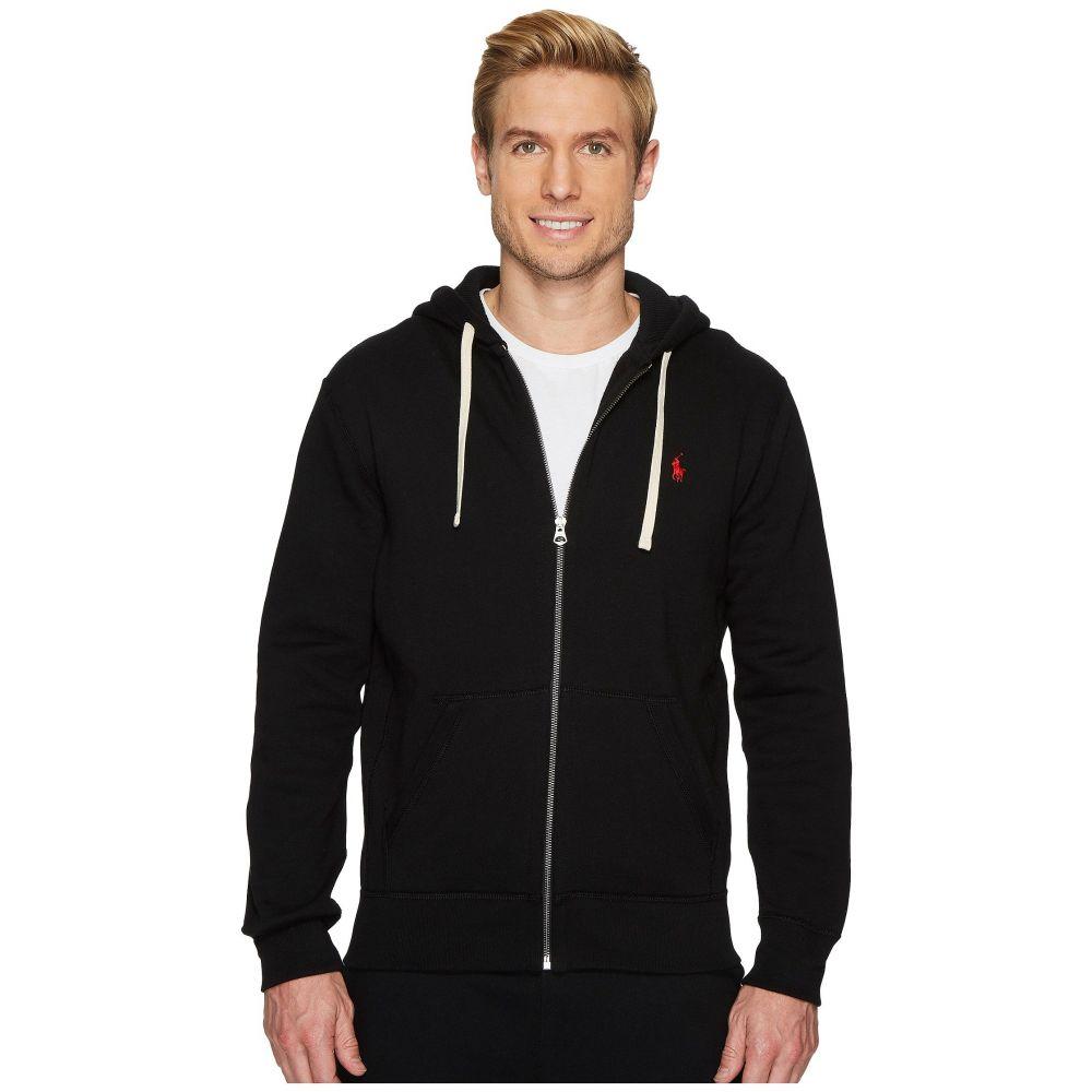 ラルフ ローレン メンズ トップス フリース【Classic Fleece Full-Zip Hoodie】Polo Black