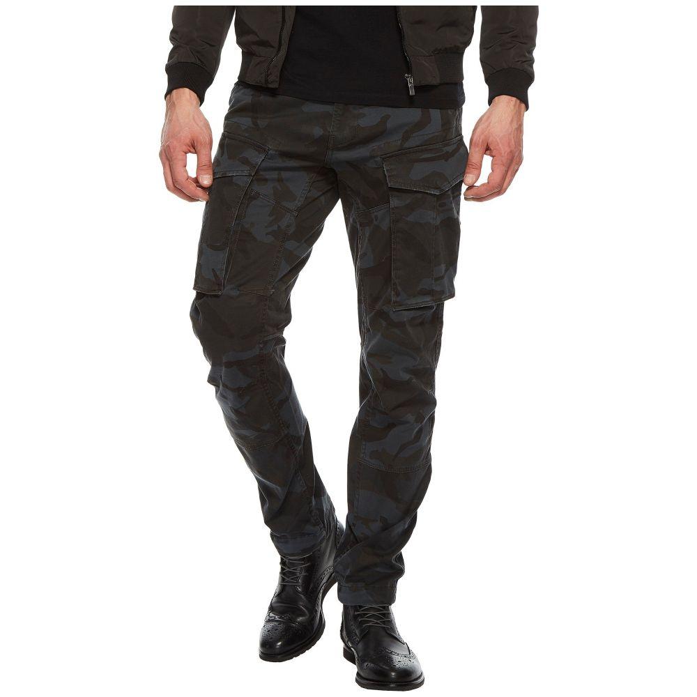 ジースター ロゥ メンズ ボトムス・パンツ【Rovic 3D Tapered Five-Pocket Army Pants】Asfalt/Black All Over