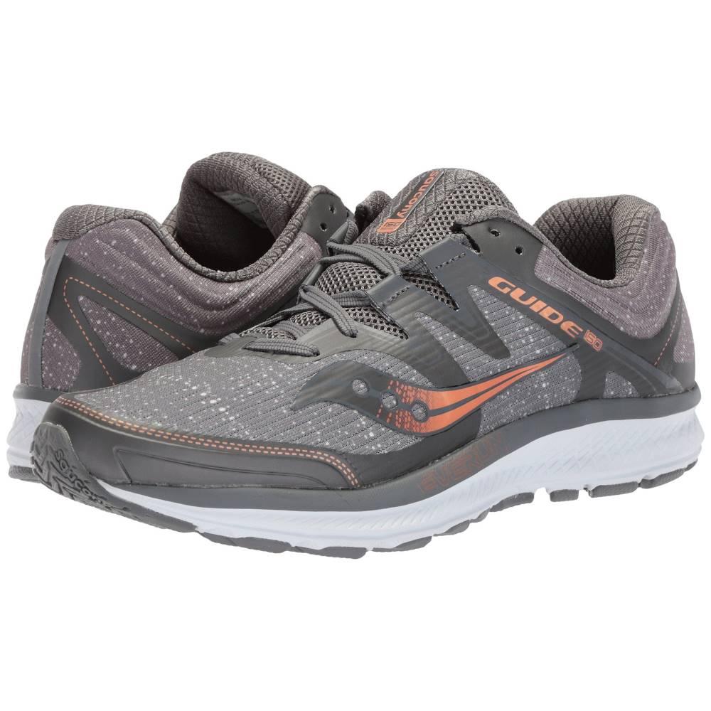 サッカニー メンズ ランニング・ウォーキング シューズ・靴【Guide ISO】Grey/Denim/Copper
