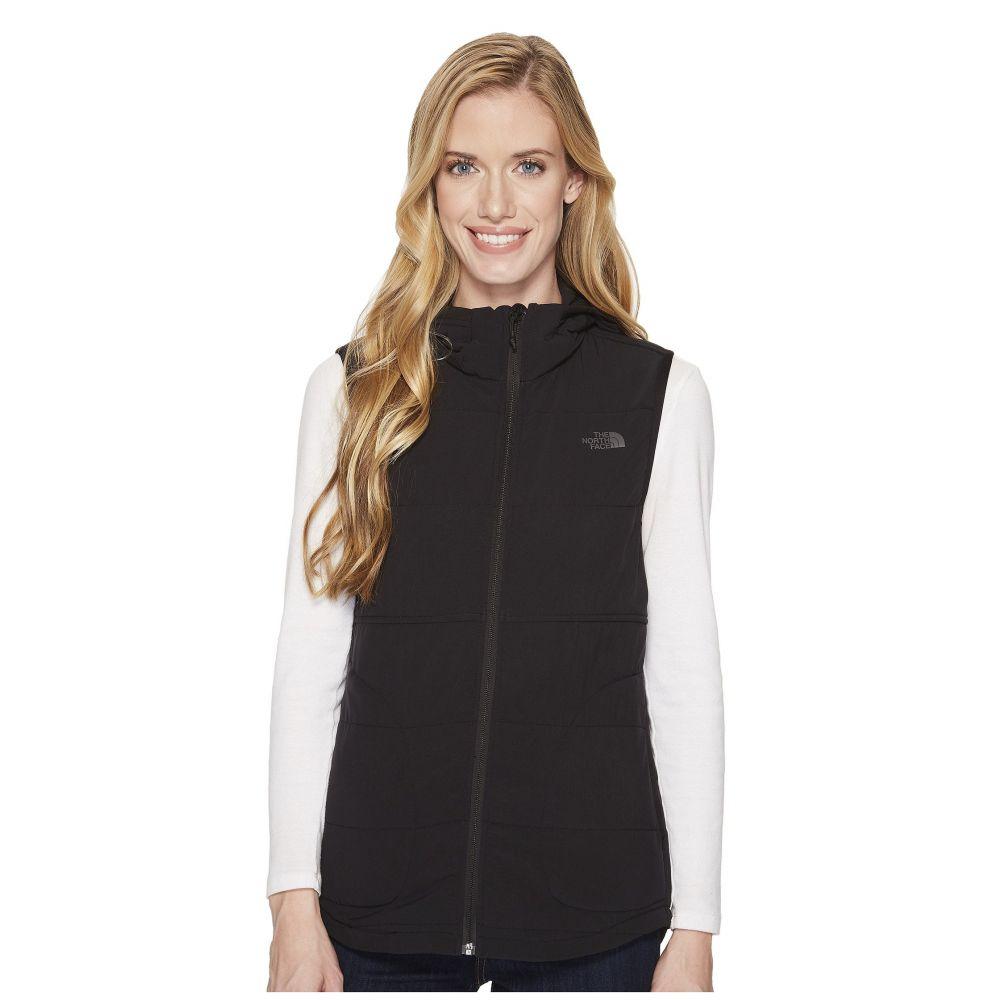 ザ ノースフェイス レディース トップス ベスト・ジレ【Mountain Sweatshirt Hooded Vest】TNF Black
