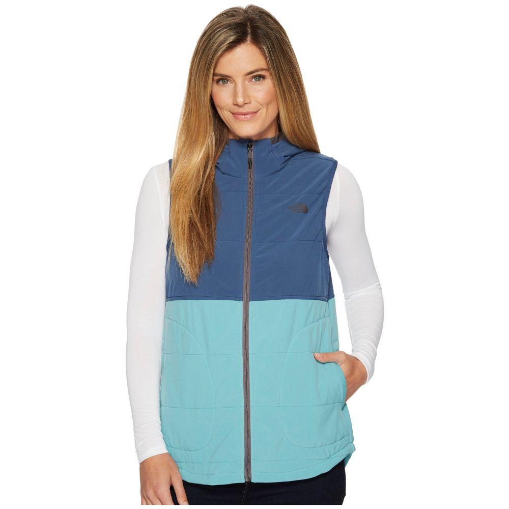 ザ ノースフェイス レディース トップス ベスト・ジレ【Mountain Sweatshirt Hooded Vest】Bristol Blue/Shady Blue