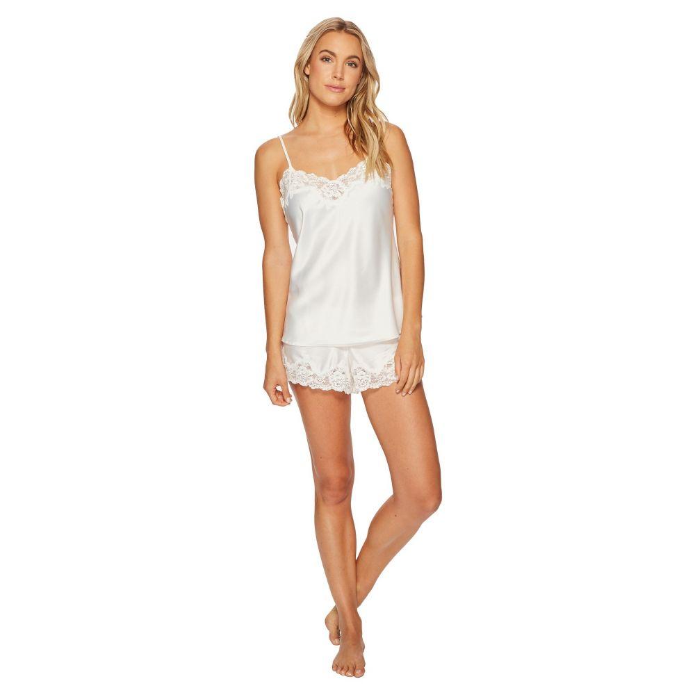 ラルフ ローレン レディース インナー・下着 パジャマ・上下セット【Satin Cami Top Pajama Set】Ivory