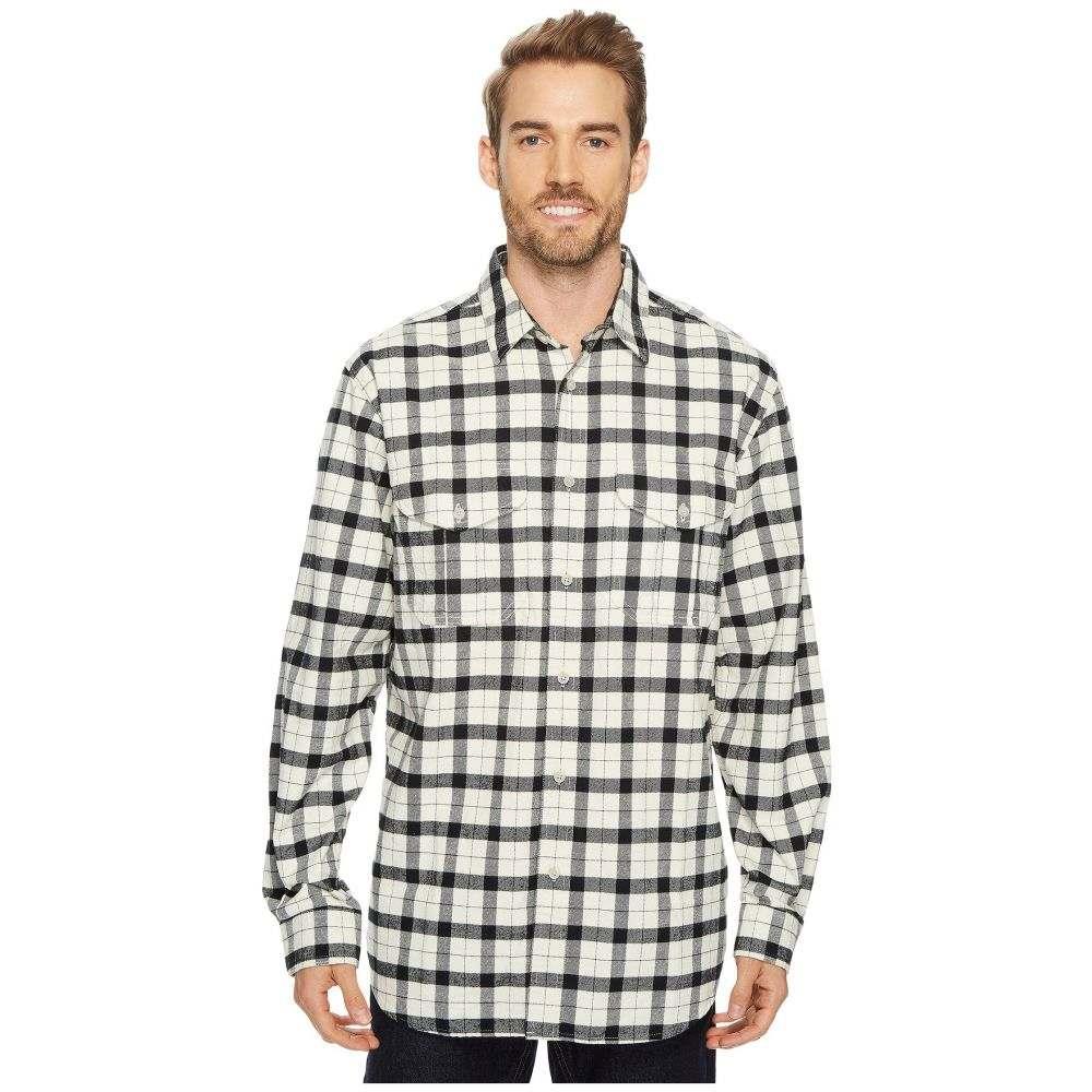 フィルソン メンズ トップス シャツ【Extra Long Alaskan Guide Shirt】Cream Black