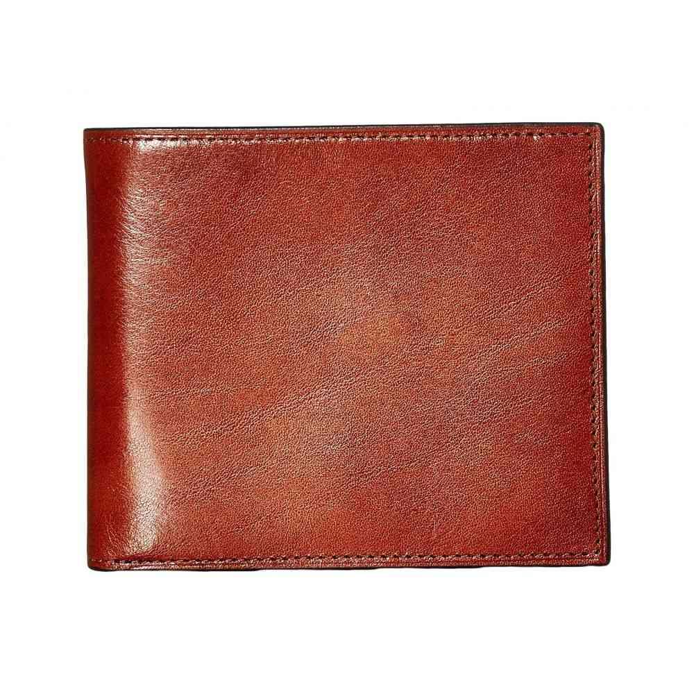 ボスカ メンズ カードケース・名刺入れ【Old Leather Collection - Credit Wallet w/ I.D. Passcase】Amber