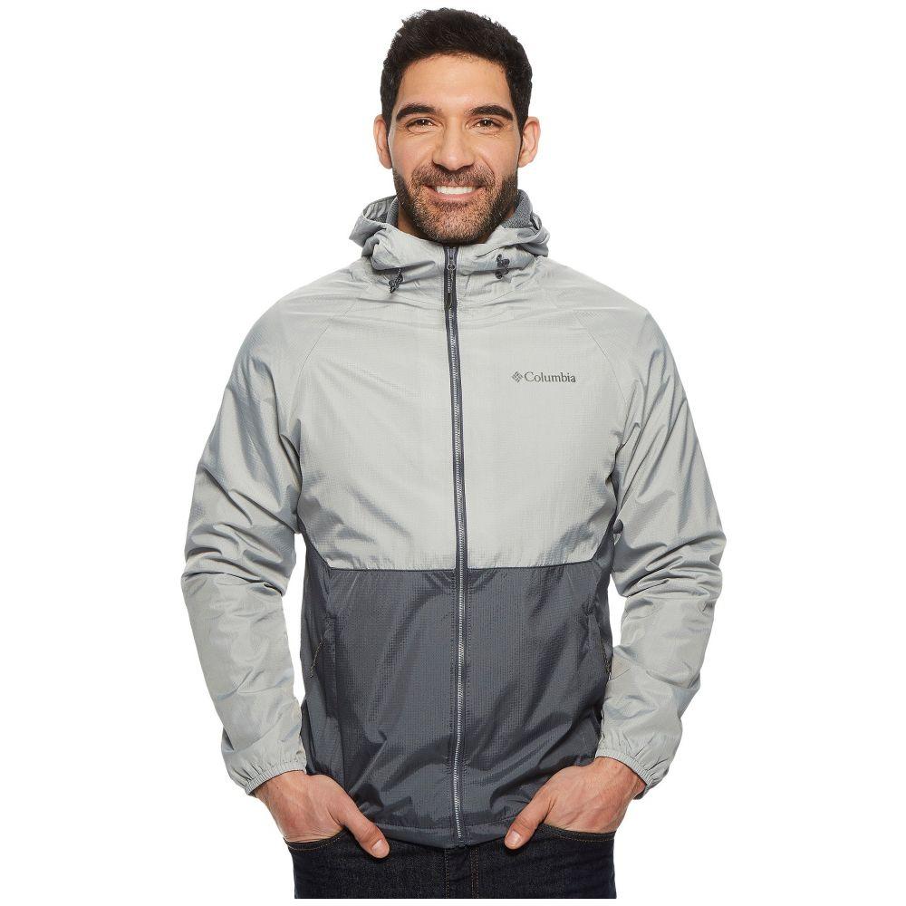 コロンビア メンズ アウター レインコート【Spire Heights Jacket】Graphite/Columbia Grey