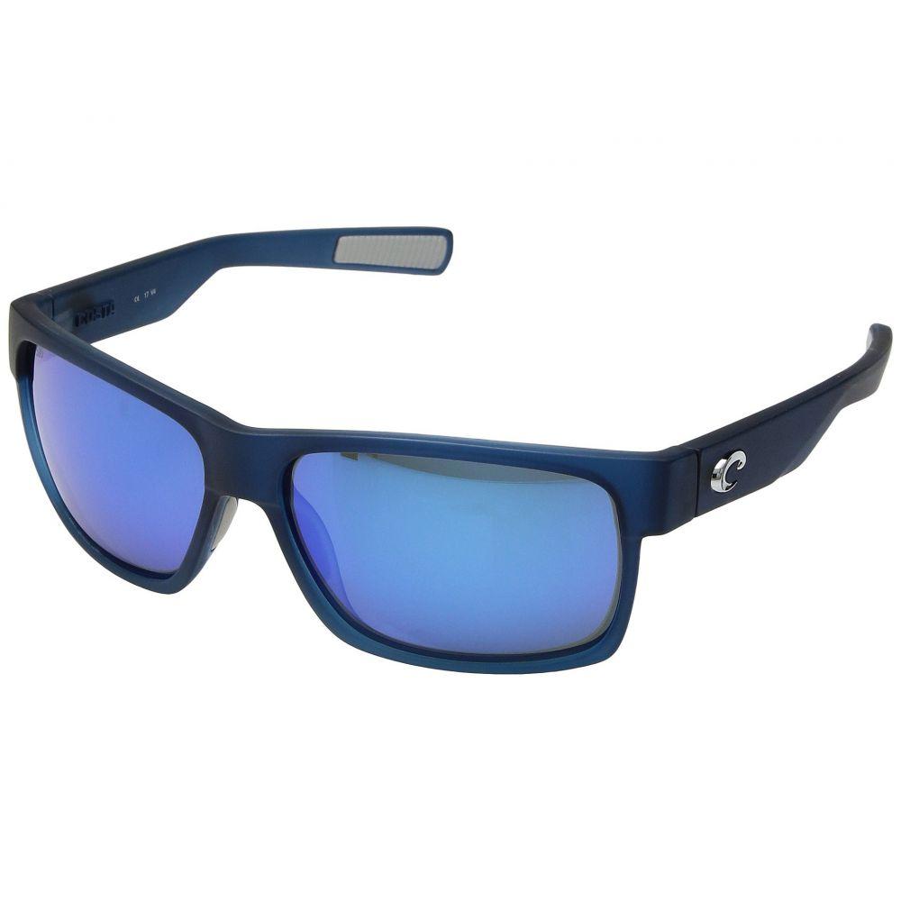コスタ レディース スポーツサングラス【Half Moon】Bahama Blue Fade/Blue Mirror 580G