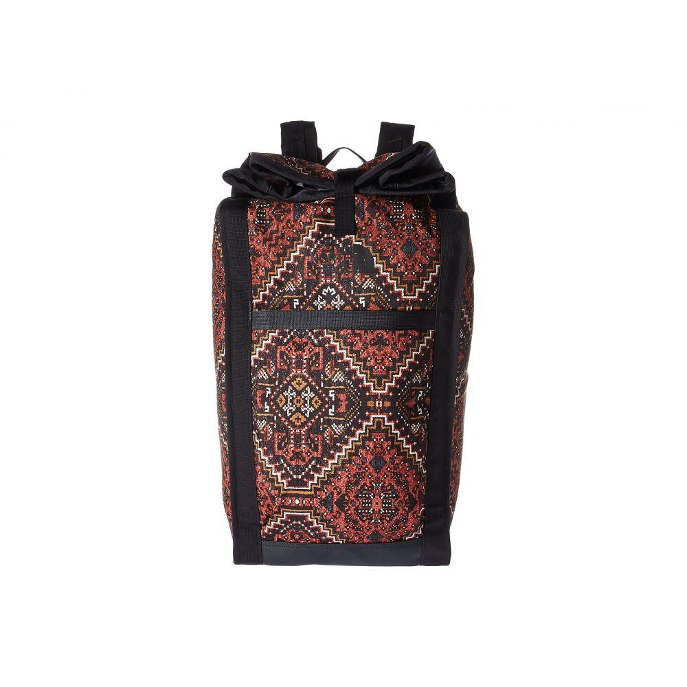 ザ ノースフェイス レディース バッグ バックパック・リュック【Homestead Roadsoda Pack】Tandori Spice Red Reno Casino Print/Weathered Black