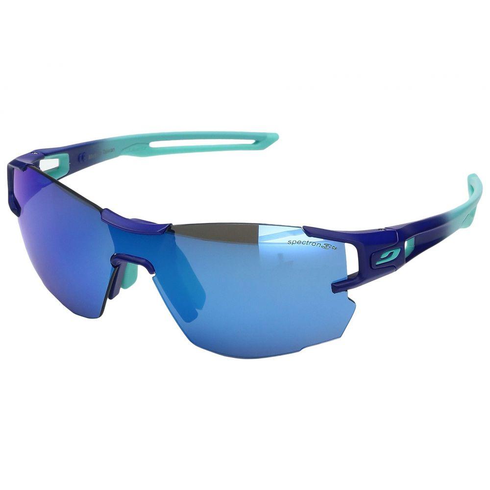 ジュルボ レディース スポーツサングラス【Aerolite Sunglasses】Blue/Green with Spectron 3 color flash Lens