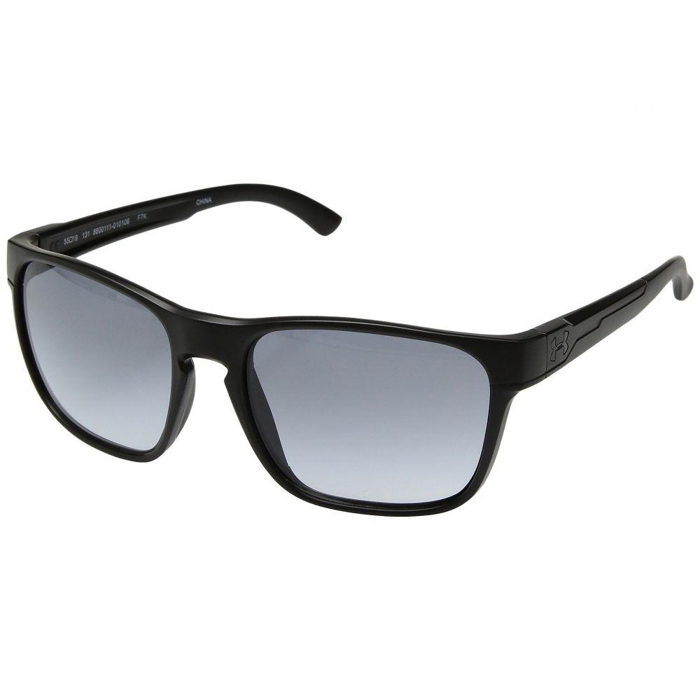 アンダーアーマー レディース メガネ・サングラス【UA Glimpse】Satin Black/Black Frame/Gray Gradient Lens 18