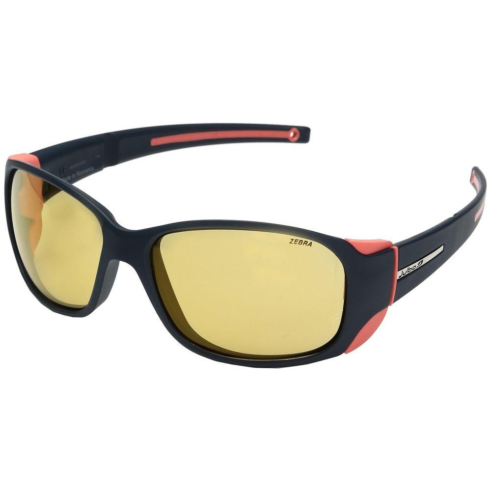 ジュルボ レディース スポーツサングラス【Monterosa Sunglasses】Dark Blue/Coral