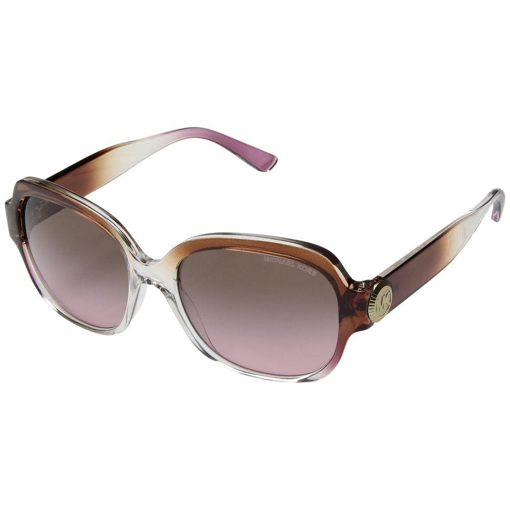 マイケル コース レディース メガネ・サングラス【Suz 0MK2055 56mm】Brown/Pink/Crystal/Brown Rose Gradient
