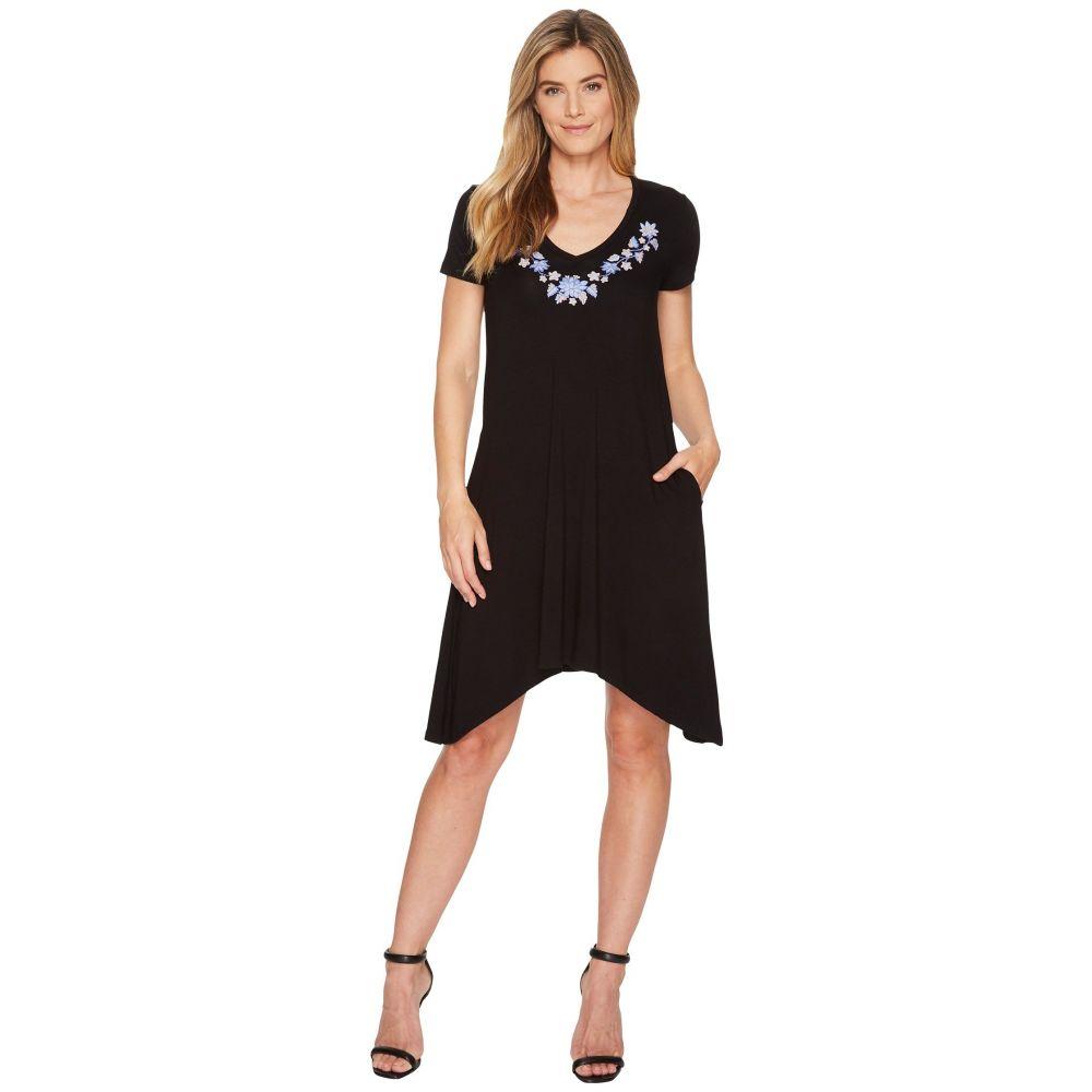 カレンケーン レディース ワンピース・ドレス ワンピース【Embroidered Hailey Dress】Black