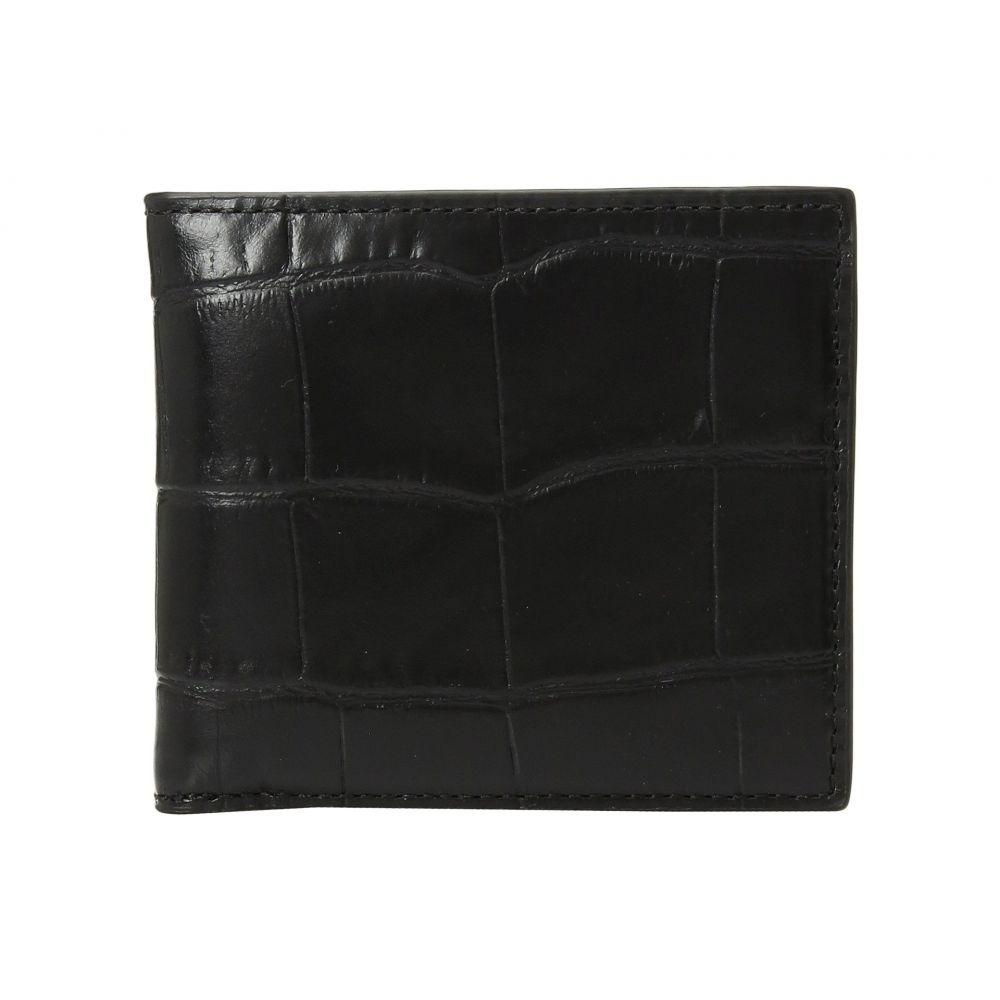 コーチ メンズ 財布【Double Billfold Wallet】Black
