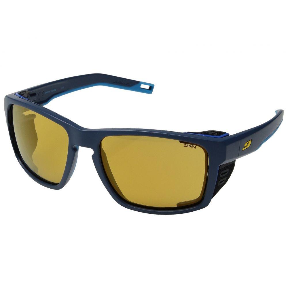 ジュルボ レディース スポーツサングラス【Shield】Blue/Blue/Yellow