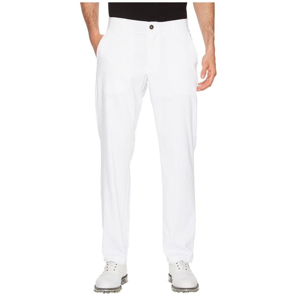 アンダーアーマー メンズ ボトムス・パンツ【Takeover Golf Pants】White/Steel Medium Heather/White