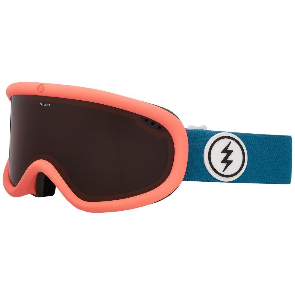 エレクトリック レディース スキー・スノーボード ゴーグル【Charger】Pink Palms/Brose Lens