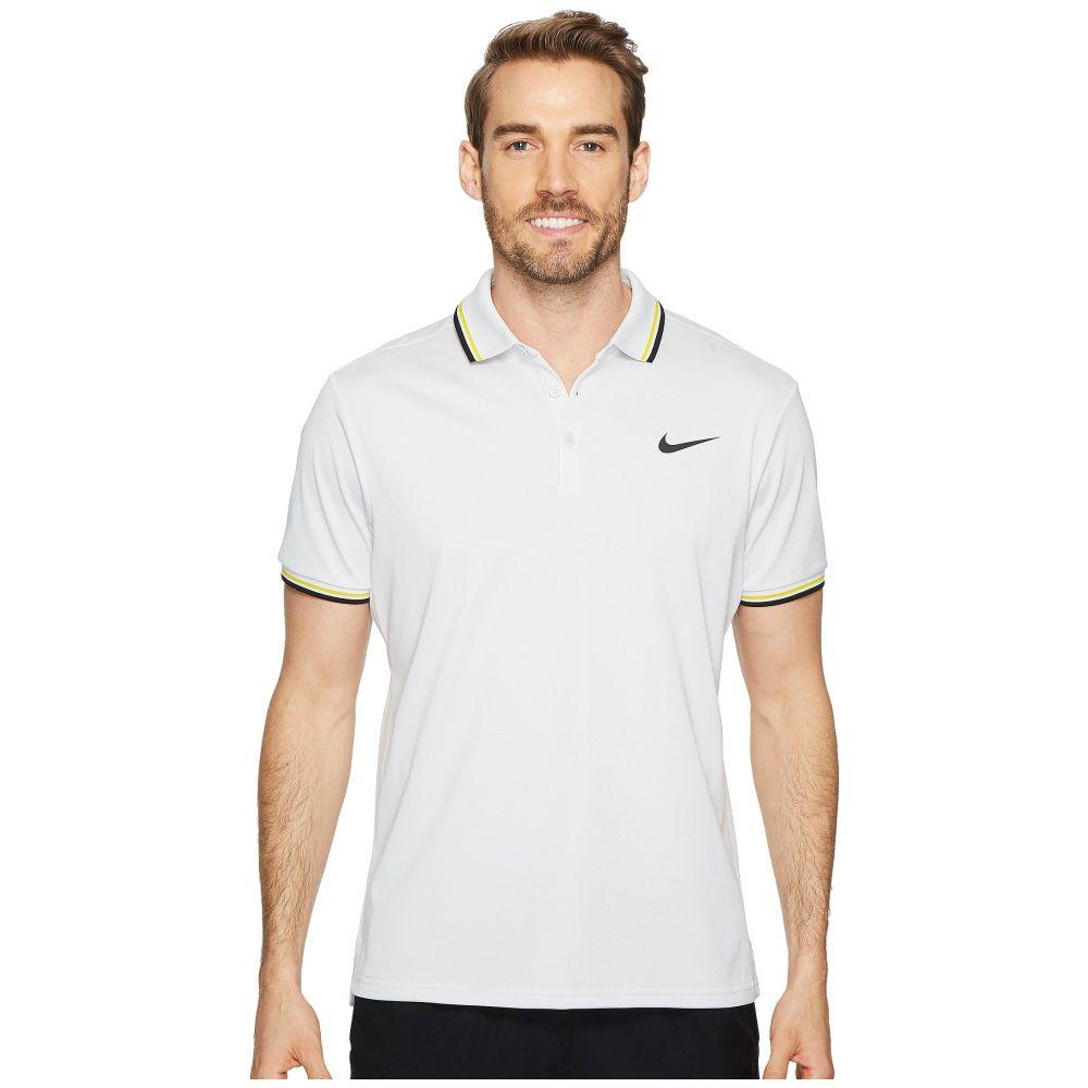 ナイキ メンズ テニス トップス【Court Tennis Polo】Vast Grey/Black