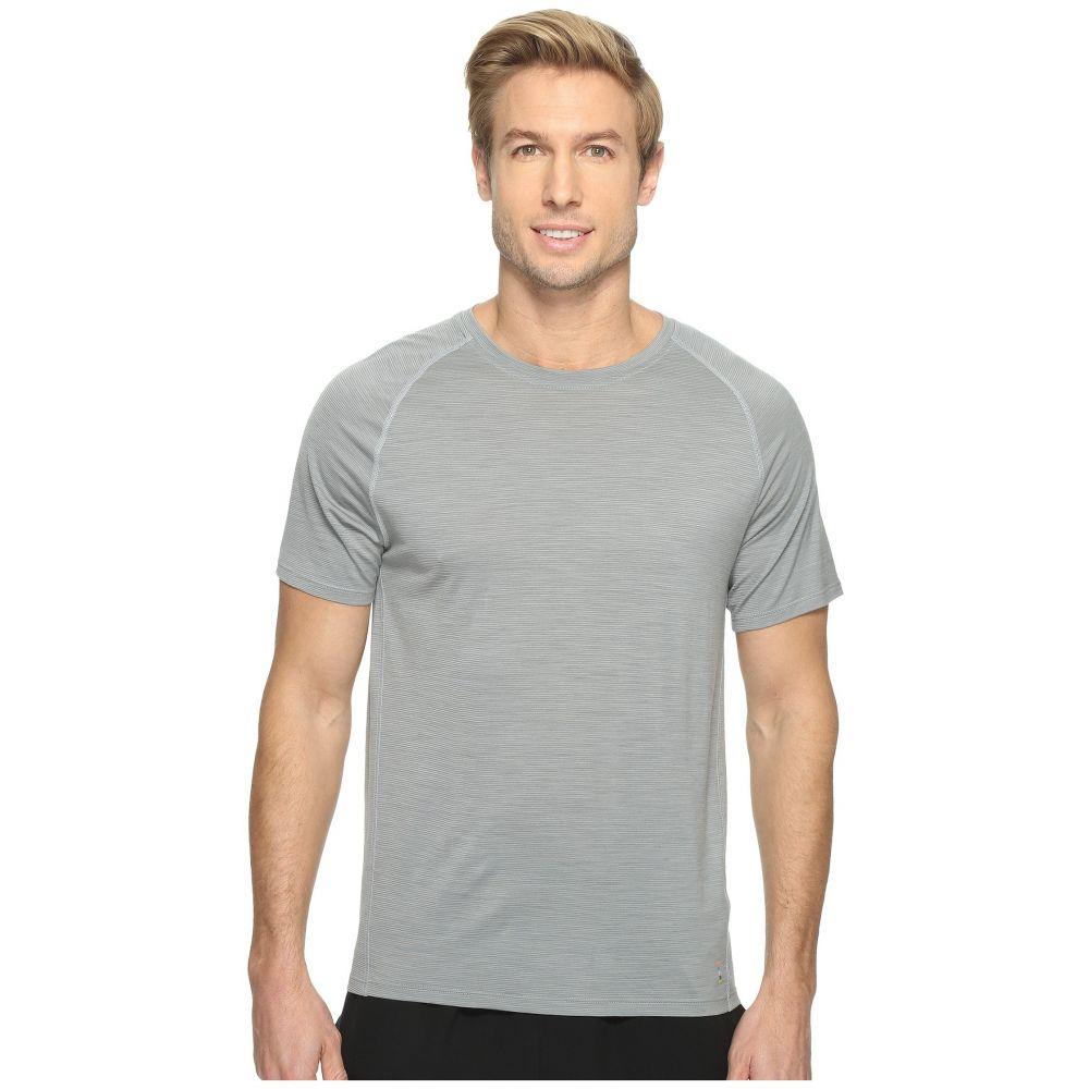 スマートウール メンズ トップス Tシャツ【Merino 150 Baselayer Pattern Short Sleeve】Light Gray