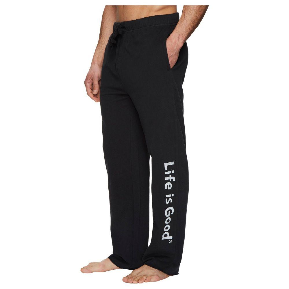 有名ブランド ライフイズグッド LIG メンズ ライフイズグッド インナー Pant】Night・下着 パジャマ・ボトムのみ【Evolved Classic LIG Fleece Lounge Pant】Night Black, Silk de Smile:fa33a1bb --- hortafacil.dominiotemporario.com