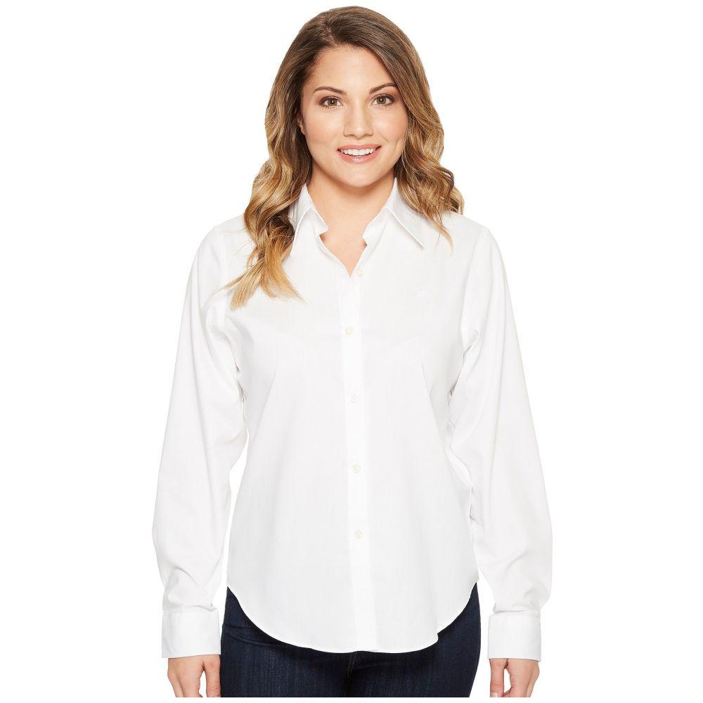 ラルフ ローレン レディース トップス ブラウス・シャツ【Petite Cotton Poplin Shirt】White