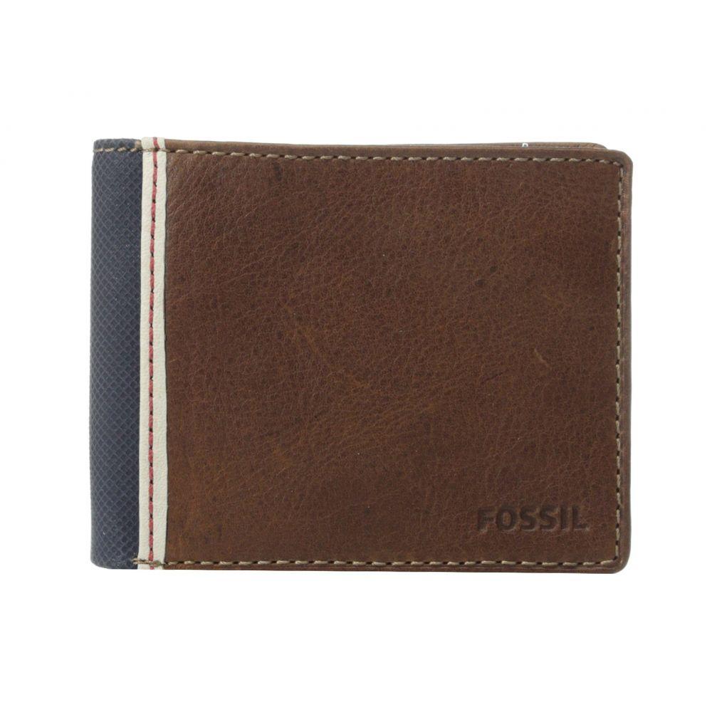 フォッシル メンズ 財布【Elgin Traveler】Brown
