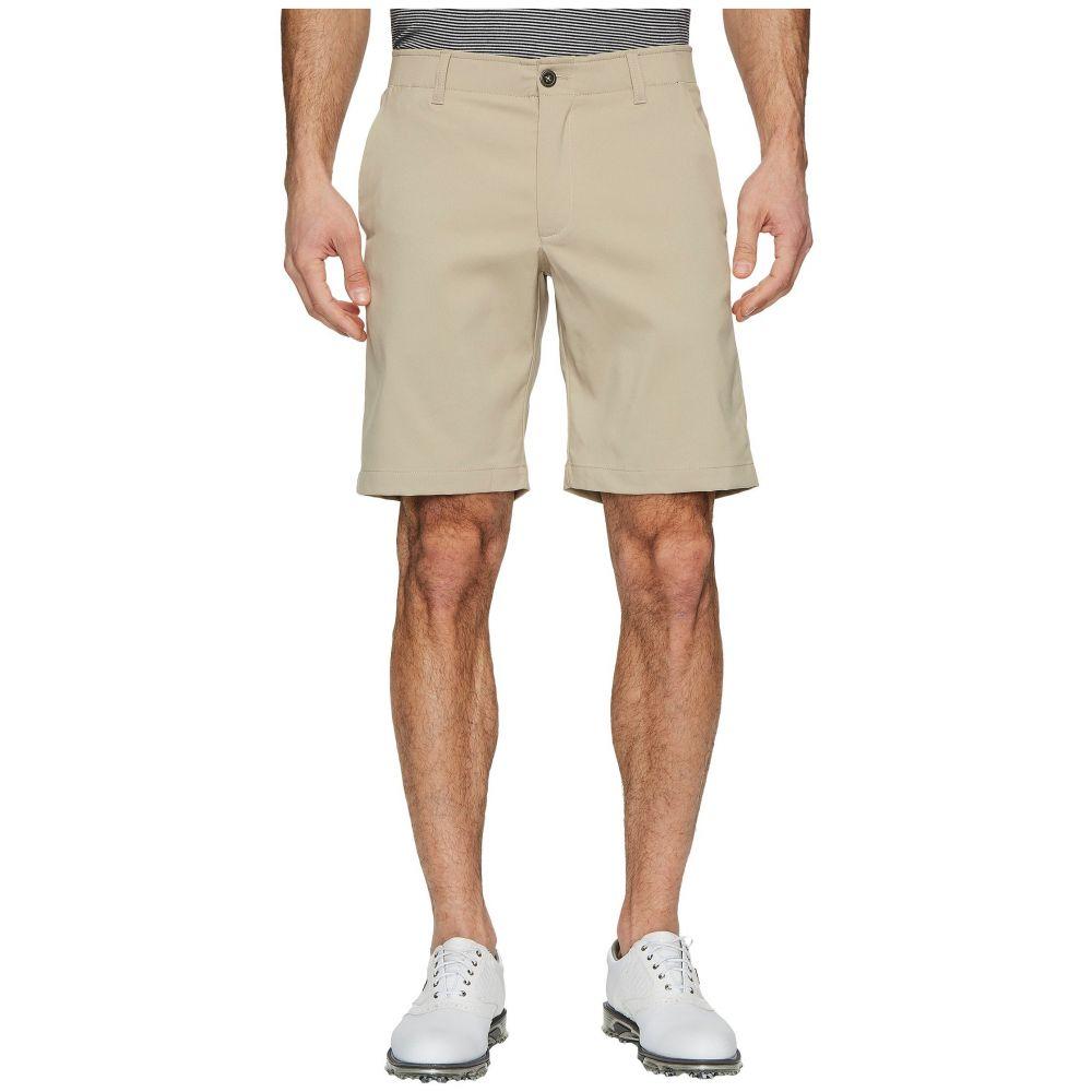 アンダーアーマー メンズ ボトムス・パンツ ショートパンツ【UA Showdown Golf Shorts】City Khaki/Steel Medium Heather/City Khaki