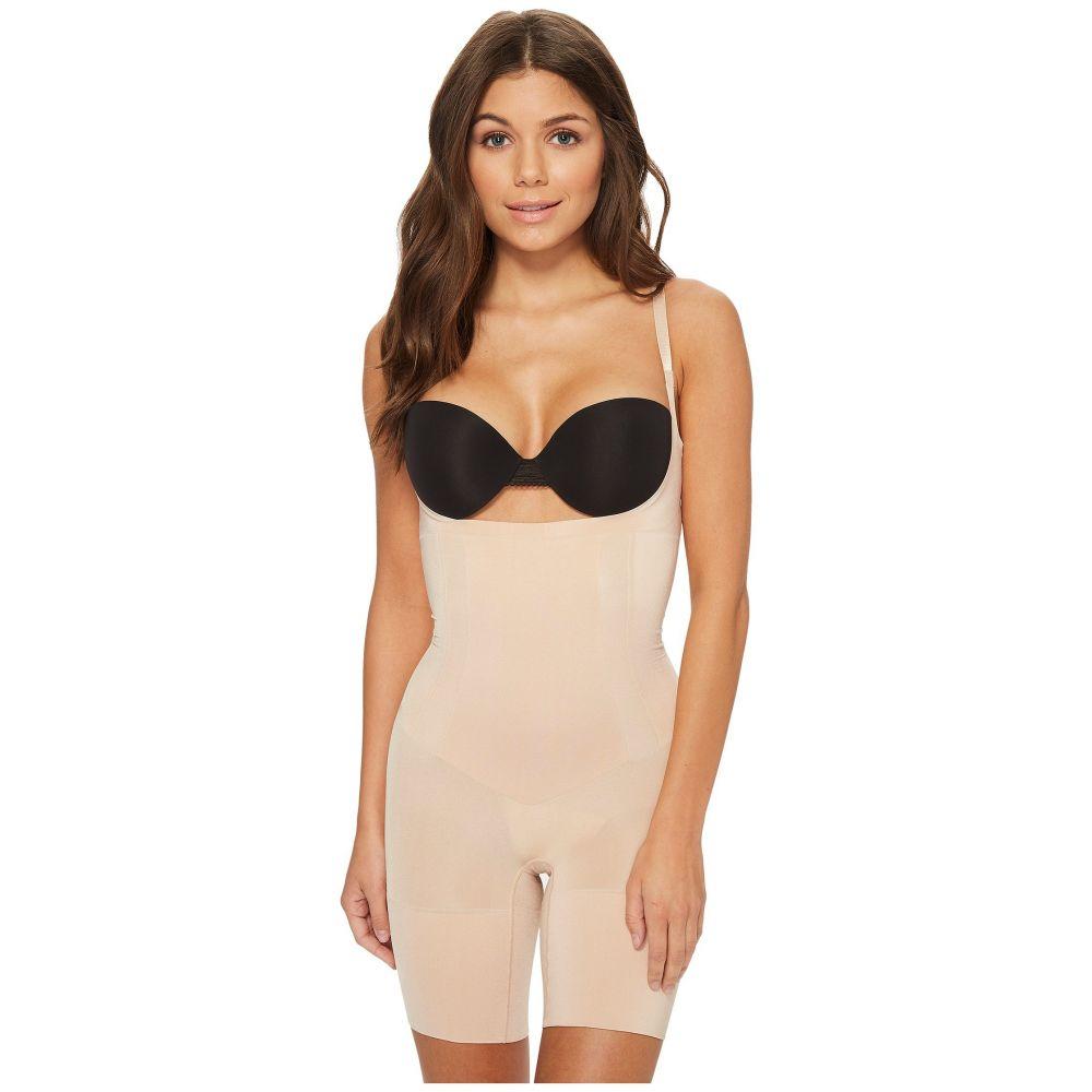 スパンクス レディース インナー・下着 ボディースーツ【Oncore Open-Bust Mid-Thigh Bodysuit】Soft Nude