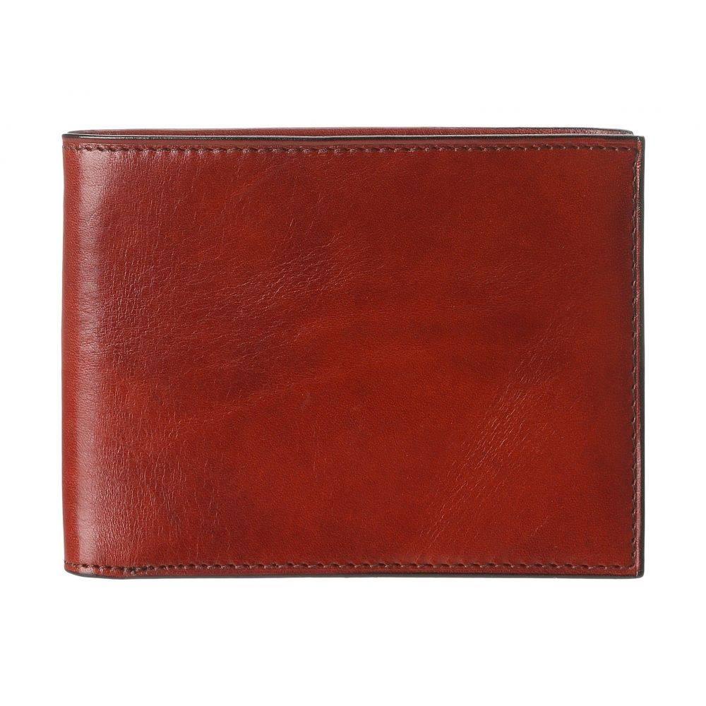 ボスカ メンズ 財布【Old Leather Classic 8 Pocket Deluxe Executive Wallet】Cognac