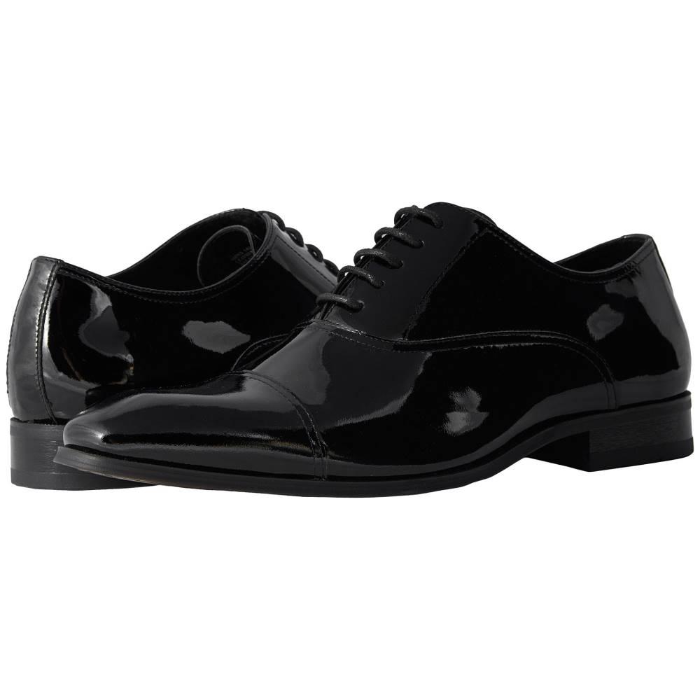 フローシャイム メンズ シューズ・靴 革靴・ビジネスシューズ【Tux Cap Toe Oxford】Black Patent