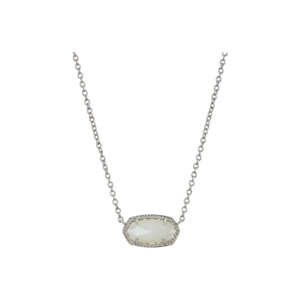 ケンドラ スコット レディース ジュエリー・アクセサリー ネックレス【Elisa Necklace】Rhodium/Ivory Mother-of-Pearl