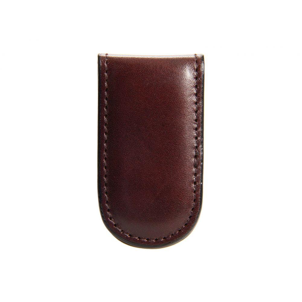 ボスカ メンズ マネークリップ【Old Leather Collection - Magnetic Money Clip】Dark Brown Leather