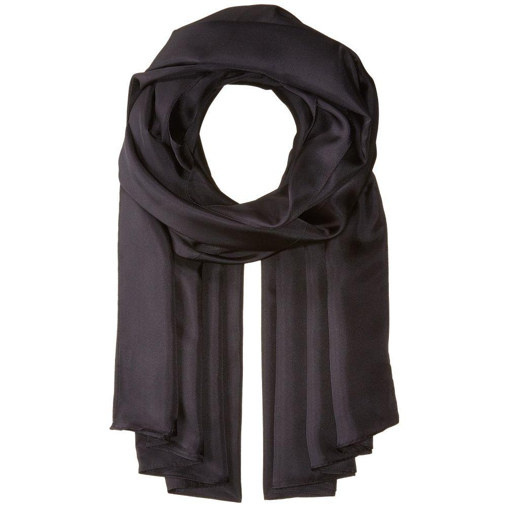 エコー レディース マフラー・スカーフ・ストール【The Everyday Silk Wrap】Black