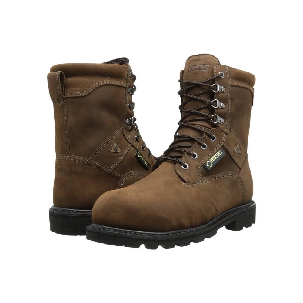 ロッキー メンズ シューズ・靴 ブーツ【9 Ranger Steel Toe GTX 600G Thinsulate】Brown