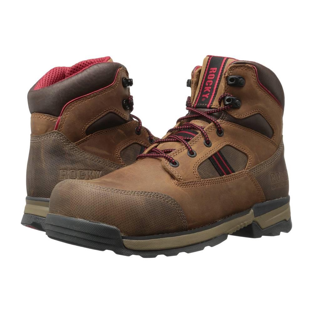 ロッキー メンズ シューズ・靴 ブーツ【6 Mobilwelt Comp WP Xtra Wide Toe】Brown