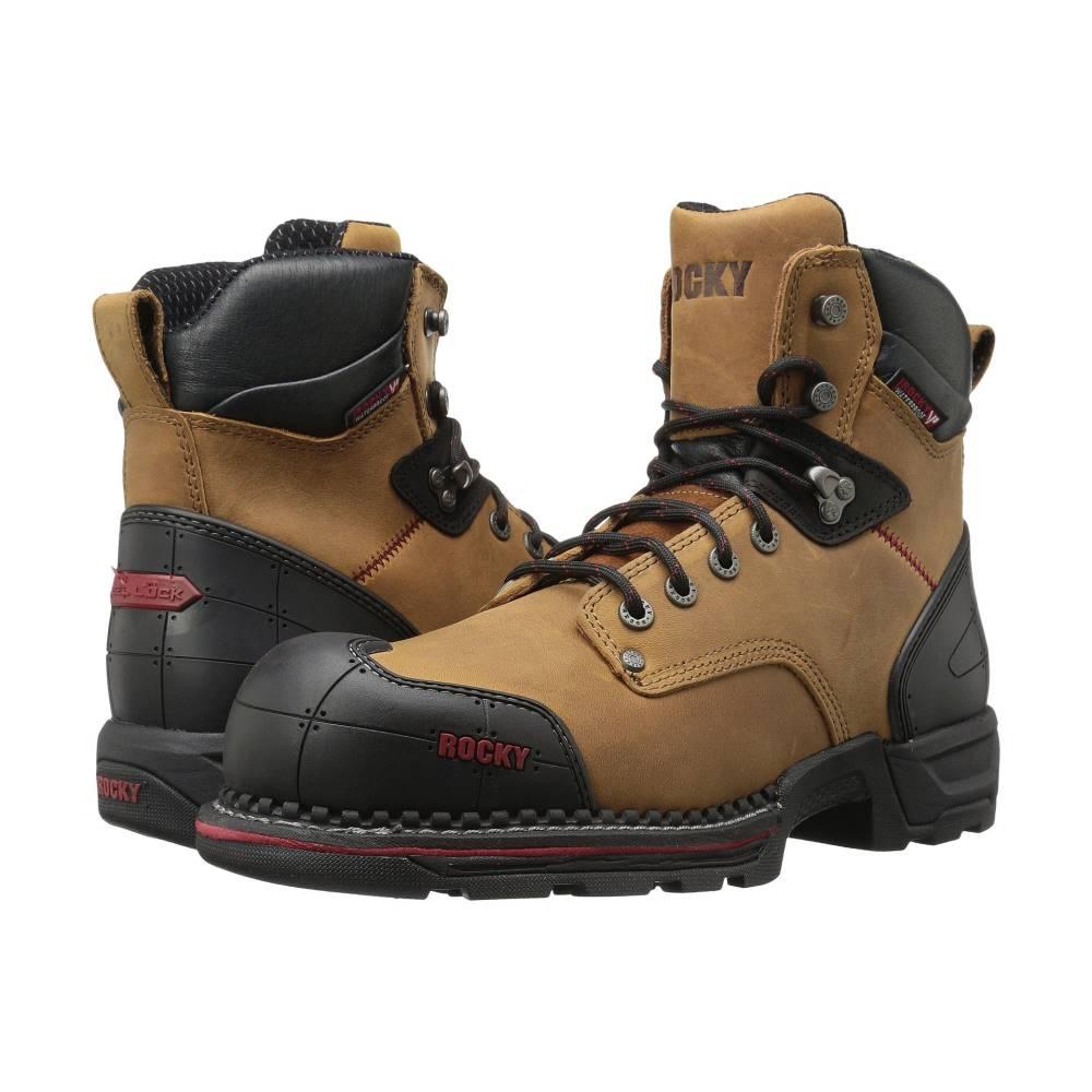 ロッキー メンズ シューズ・靴 ブーツ【6 Workmaxx Comp Toe RVP WP】Brown